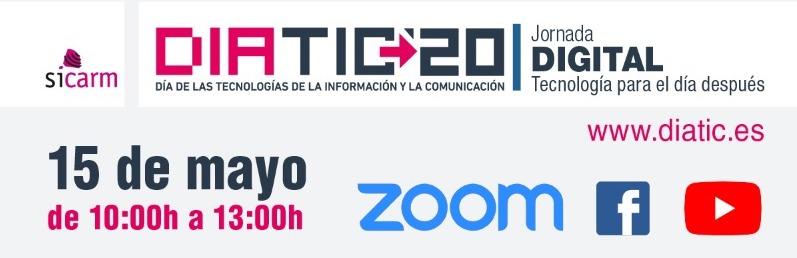 TIMUR COLABORA CON LA JORNADA DIGITAL DEL DIATIC 2020