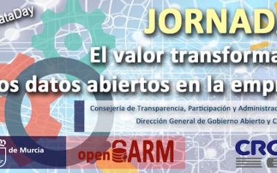 JORNADA EL VALOR TRANSFORMADOR DE LOS DATOS ABIERTOS EN LA EMPRESA